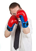Ready to fight — Stock Photo