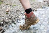 Stream Hiking — Stock Photo