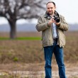 Stock Photo: Photographer outdoor
