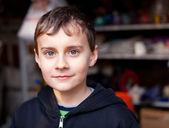 Handsome kid — Stock Photo