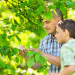 Royalty-Free Stock Photo: Father and son outdoor