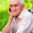 Old man outdoor — Stock Photo #5686356