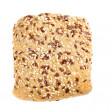 Rye bread with flax seeds - Stock Photo