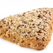 Rye bread with flax seeds — Stock Photo #5686378