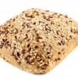 Rye bread with flax seeds — Stock Photo #5686379