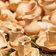 Ceramic pottery at Horezu, Romania — Stock Photo #5827785