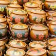 Ceramic pottery at Horezu, Romania - Foto Stock