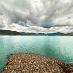 Landscape from Vidra Lake, Romania — Stock Photo