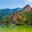 Landscape with mountains from Olt Valley in Romania — Stock Photo #5955397