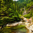 Latoritei Valley in Romania mountains — Stock Photo