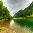 Petrimanu Lake in Romania — Stock Photo
