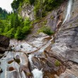 Latoritei waterfall in Romania mountains - ストック写真