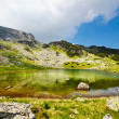 Glacial Lake Vidal in Parang mountains, Romania — Stock Photo #5960294