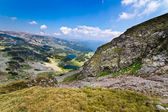 Glacial lakes Vidal and Pencu in Parang mountains, Romania — Stock Photo