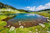 Glacial Lake Vidal in Parang mountains, Romania — Stock Photo