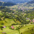 Alpine landscape with houses in Tyrol — Stock Photo #6084756