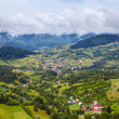 Alpine landscape with houses in Tyrol — Stock Photo #6084760