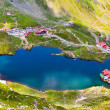 Lake and mountain (Balea Lake in Romania) — Stock Photo #6084803