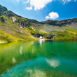 Lake and mountain (Balea Lake in Romania) — Stock Photo #6090257