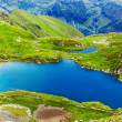 Stock Photo: Lake and mountain (Capra Lake in Romania)