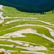 Foto Stock: Transalpinwinding road in Romania
