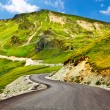 Transalpina winding road in Romania — Stock Photo