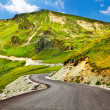 图库照片: Transalpinwinding road in Romania