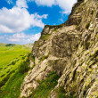 Huge cliff in Parang mountains in Romania - Stock Photo