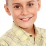 Child portrait isolated on white — Stock Photo #6203542