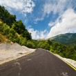 Road through mountains — Stock Photo