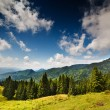 Landscape with mountains in Romania — Stock Photo