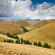 Landscape with mountains in Romania — Stock Photo #6316448
