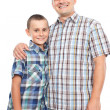 Happy father and son — Stock Photo #6316550