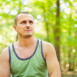 Sporty young man outdoor — Stock Photo #6588401