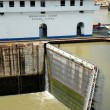 Panama Canal Locks — Stock Photo