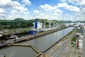 Panama Channel — Stock Photo