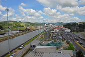 Panama Canal overview — Stock Photo