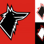 Wolf head icon — Stock Vector