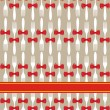 Christmas cutlery seamless pattern background — Stock Vector