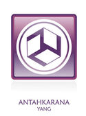 Antahkarana YANG icon Symbol — Stock Photo