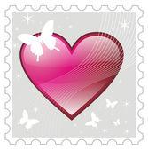Love Stamp — Stock Photo