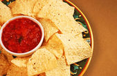 Nacho chips — Stock Photo