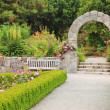 Garden archway — Stock Photo #5996409