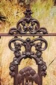 Ornamental ironworks — Stock Photo