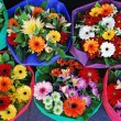 ������, ������: Colorful bouquets of flowers