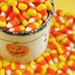 Royalty-Free Stock Photo: Halloween candy corn