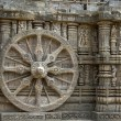Stone Wheel, Konark — Stock Photo