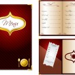 Royalty-Free Stock Vector Image: Restaurant menu design