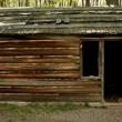 Постер, плакат: Revolutionary War troop cabins