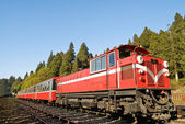 Red train — Stock Photo